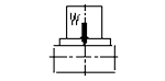 容许工件荷重(水平)(五轴)