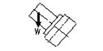 容许工件荷重(垂直)(五轴)